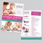 Flyer Zwanger & Babybeurs 2014