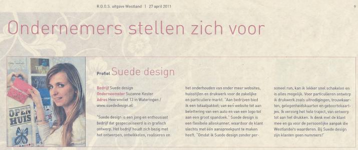 Suzanne Kester Suede design